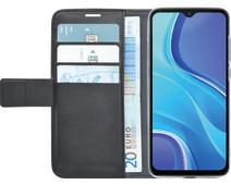 Azuri Wallet Magnet Xiaomi Redmi 9 Book Case Black