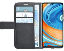 Azuri Wallet Magneet Xiaomi Redmi Note 9 Pro Book Case Zwart