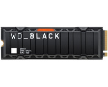 WD Black SN850 1TB NVMe with Heatsink