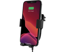 Belkin Boost Up Wireless Car Charger 10W with Phone Mount Ventilation Grid Black