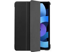 Just in Case Tri-Fold Apple iPad Air (2020) Book Case Zwart