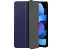 Just in Case Tri-Fold Apple iPad Air (2020) Book Case Blauw