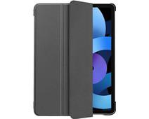 Just in Case Tri-Fold Apple iPad Air (2020) Book Case Grijs