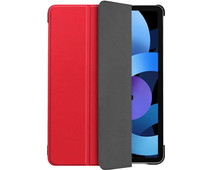 Just in Case Tri-Fold Apple iPad Air (2020) Book Case Rood