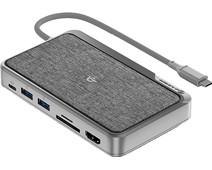 Alogic USB-C Dock WAVE 3-in-1 Grijs