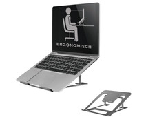 NewStar Foldable Laptop Stand NSLS085 Gray