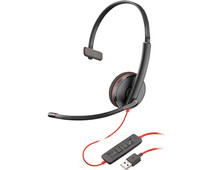 Poly Backwire C3210 USB-A Office Headset