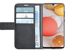 Azuri Wallet Samsung Galaxy A42 Book Case Zwart