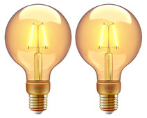 Innr Filament Globe Light Vintage RF 261 Duo Pack