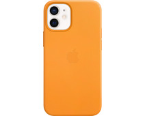 Apple iPhone 12 mini Back Cover with MagSafe Leather California Poppy