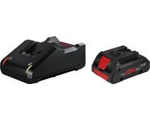 Bosch Professional Starterset 18V 4,0 Ah (1x accu + lader)