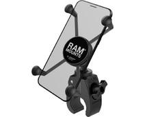 RAM Mounts Universal Phone Mount Motorcycle Tough-Claw Handlebar Large