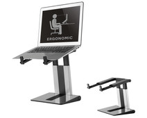 NewStar Foldable Laptop Stand NSLS200 Silver