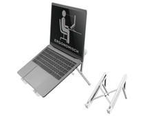 NewStar Foldable Laptop Stand NSLS010 Silver