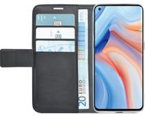 Azuri Wallet OPPO Reno4 Pro Book Case Black