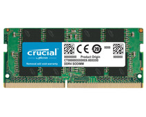 Crucial 16GB 2666MHz DDR4 SODIMM Dual Rank (1x16GB)