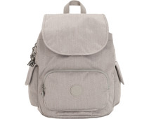 Kipling City Pack S Grey Beige Peppery 13L