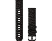 Garmin Nylon Bandje Zwart 20mm