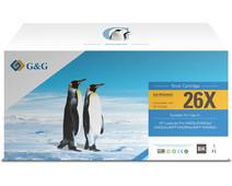 G&G 26 Toner Zwart (Hoge Capaciteit)