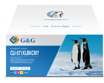 G&G CLI-571XL Cartridges Combo Pack