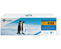 G&G 410X Toner Cyaan (Hoge Capaciteit)