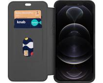 Otterbox Strada Apple iPhone 12 Pro Max Book Case Leer Zwart