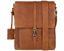 Burkely Antique Avery | Crossover M Messenger Lichtbruin