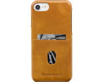 DBramante1928 Tune CC Apple iPhone 6 / 7 / 8 / SE Back Cover Leer Bruin