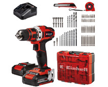 Einhell TE-CD 18/40 Li Kit + 69-piece accessory set