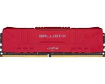 Crucial Ballistix 8GB 3000MHz DDR4 DIMM CL15 Red (1x8GB)