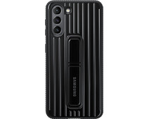 Samsung Galaxy S21 Protective Standing Back Cover Black