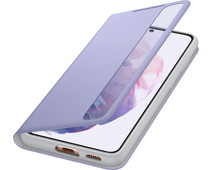 Samsung Galaxy S21 Clear View Book Case Paars