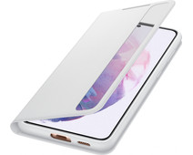 Samsung Galaxy S21 Plus Clear View Book Case Gray