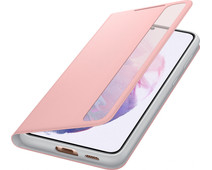 Samsung Galaxy S21 Plus Clear View Book Case Roze