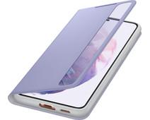 Samsung Galaxy S21 Plus Clear View Book Case Purple
