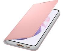 Samsung Galaxy S21 Plus Led View Book Case Roze
