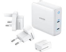Anker PowerPort Atom III Duo Charger without Cable 2 USB Ports 60W Power Delivery