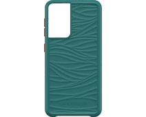 LifeProof WAKE Samsung Galaxy S21 Back Cover Groen