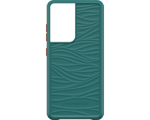 LifeProof WAKE Samsung Galaxy S21 Ultra Back Cover Groen
