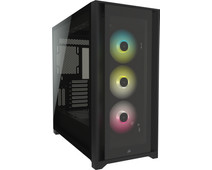Corsair iCUE 5000X RGB Tempered Glass Mid-Tower ATX Case