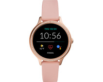 Fossil Gen 5E Display FTW6066 Rose Gold/Pink 42mm