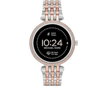 Michael Kors Darci Gen 5E Display MKT5129 Silver/Rose Gold