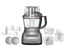 KitchenAid Foodprocessor Zilver 3,1 L