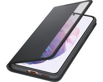 Samsung Galaxy S21 Clear View Book Case Zwart