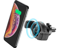 Cellularline Universal Phone Mount with Wireless Charging Air Vent