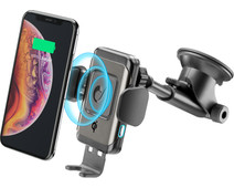 Cellularline Universal Phone Mount with Wireless Charging Dashboard / Windshield