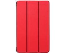 Just in Case Tri-Fold Lenovo Tab M10 HD (2de generatie) Book Case Rood