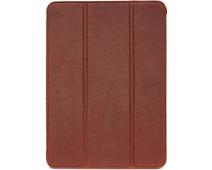 Decoded Apple iPad Air (2020) Book Case Leer Bruin