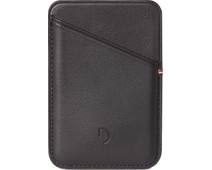Decoded Leather Card Wallet for iPhone with MagSafe Black