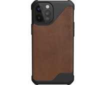 UAG Metropolis Lite Apple iPhone 12 Pro Max Back Cover Leer Bruin